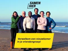 Samen Hier Welkom Groepen gezocht: laat je samen matchen met een nieuwkomer!