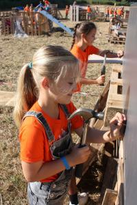 YMCA Nederland  Jeugdbegeleiding (6-8, 8-10, 10-12 jaar) bij een huttenbouwweek